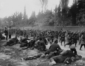 The Austrians referred to the dismal conditions of the Allied Armoy of Salonika as the 'World largest Concentration Camp.'
