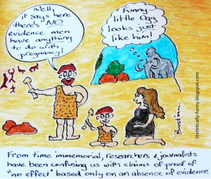 Hilda Bastian's comedic take on the subject. See: http://statistically-funny.blogspot.com/2013/06/studies-of-cave-paintings-have-shown.html